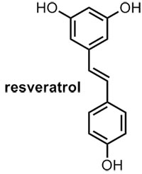 Chemical Molecule for Resveratrol...
